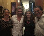 Jon Bon Jovi en La Guarida. Foto: Cuenta en Facebook de La Guarida