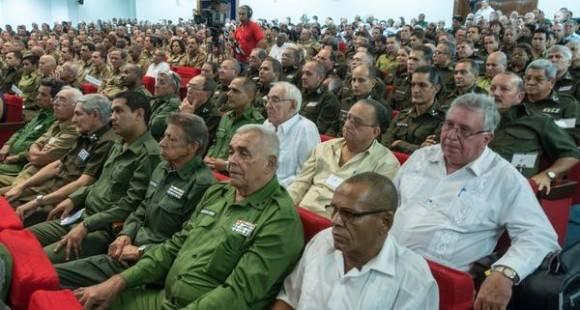 Acto por el Aniversario 55 del Ministerio del Interior (MININT), en la Sala Universal de las FAR, en La Habana, el 6 de junio de 2016. Foto: Marcelino Vázquez/ACN