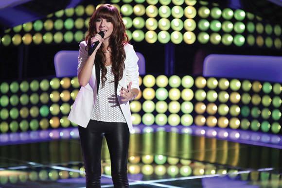 Christina Grimmie se hizo popular tras su participación en el concurso televisado, The Voice (La Voz). Foto tomada de sjmagazine.net.