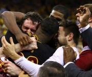 Cleveland Cavaliers remontó una desventaja de 3-1 ante Golden State.  Foto: Getty Images