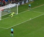 Cristiano Ronaldo anotó el primer gol de la tanda. Foto: UEFA.