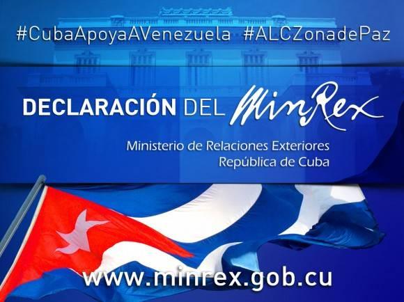 Declaracion Minrex para Sitio Venezuela