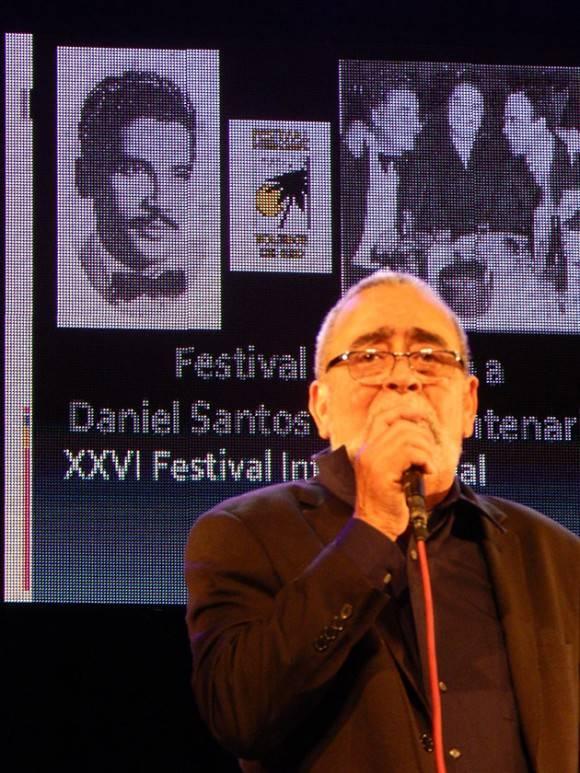 Dedicado a Daniel Santos el Boleros de Oro. Foto: Adán Iglesias / Cubadebate