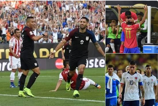 EEUU y Colombia clasifican a segunda ronda Copa América