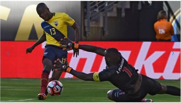 Enner Valencia anotó para Ecuador, Foto: AFP