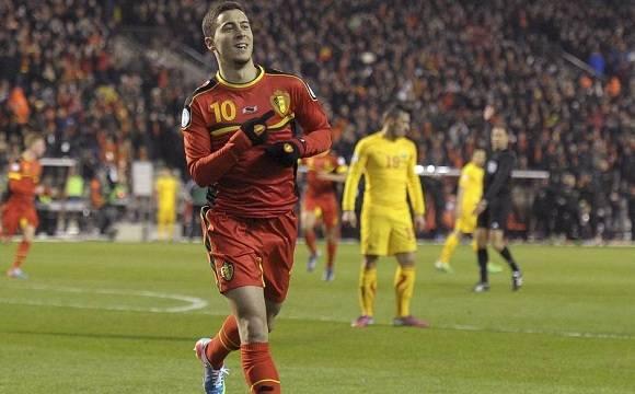 Eden Hazard, la estrella de Bélgica.