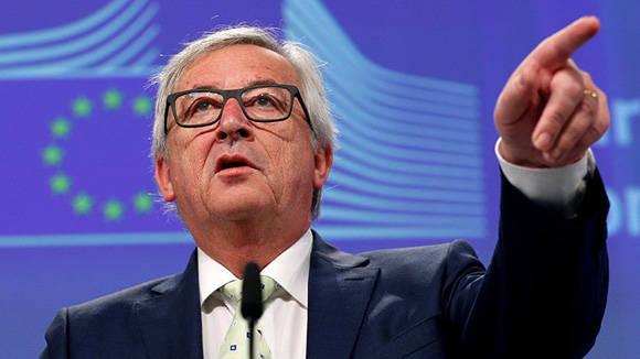 El presidente de la Comisión Europea,  Jean-Claude Juncker, dedicó unas fuertes palabras a los eurodiputados británicos . Foto: Francois Lenoir/ Reuters.