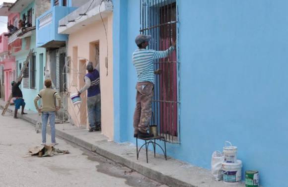 En Sancti Spíritus se han remozado unas 10 mil viviendas aisladas. Foto: Vicente Brito/ Escambray.