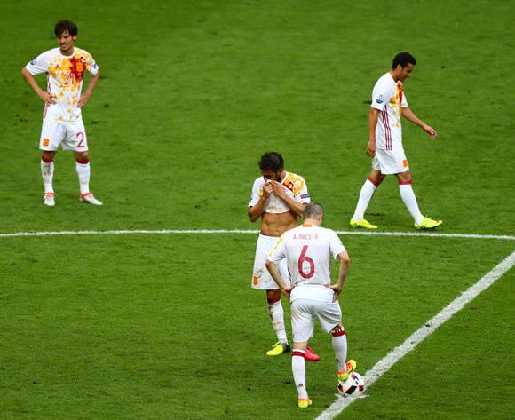 Termina un ciclo de victoria para la selección española, que se alzó en el Mundial de 2010 y las Euro de 2008 y 2012. Foto: UEFA.
