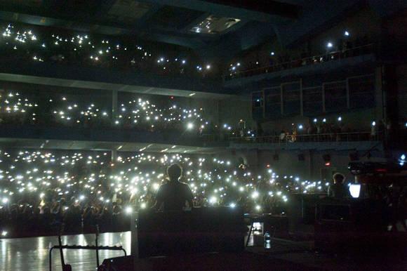 Fito Páez ofrece su corazón en el teatro Karl Marx de la capital cubana