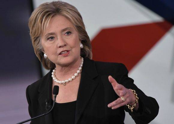 Hillary Clinton. Foto tomada de columbia.co.cr