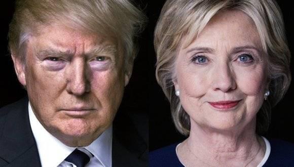 El republicano Donald Trump y la demócrata Hillary Clinton. Foto: Archivos.