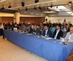 Asistentes a la inauguración de la Primera Conferencia sobre Transferencias Monetarias Internacionales en Cuba, IMTC 2016, con sede en el hotel Meliá Cohíba,  en La Habana, el 27 nde junio de 2016.  Foto. Jorge Legañoa /ACN