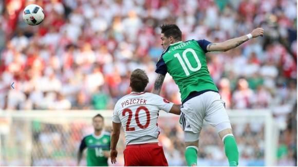 Irlanda del Norte regresaba a una gran cita futbolística 30 añod después. Su última aparición fue la Copa Mundial de la FIFA México 1986. Foto: AFP