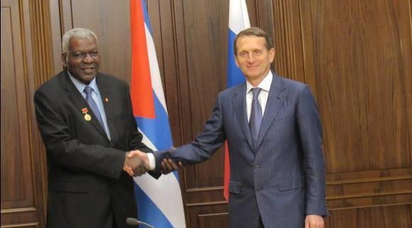 Lazo y el Presidente de la Duma 680