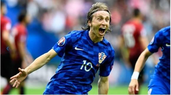 Luka Modric fue clave en el éxito de Croacia ante Turquía. foto: Getty Images