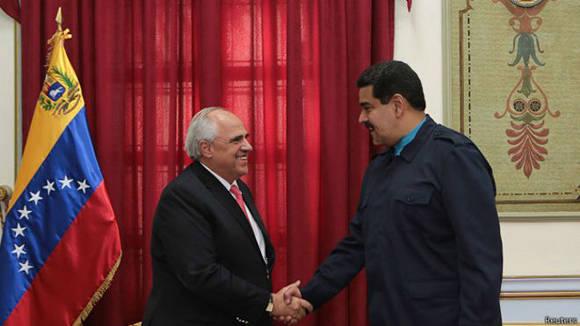 El encuentro entre Maduro y Samper estuvo dedicado al análisis de la situación en Venezuela. Foto: Reuters/ Archivo.