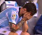 Messi llora
