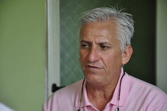 Miguel Ángel Alvelo. Foto: Roberto Garaycoa / Cubadebate