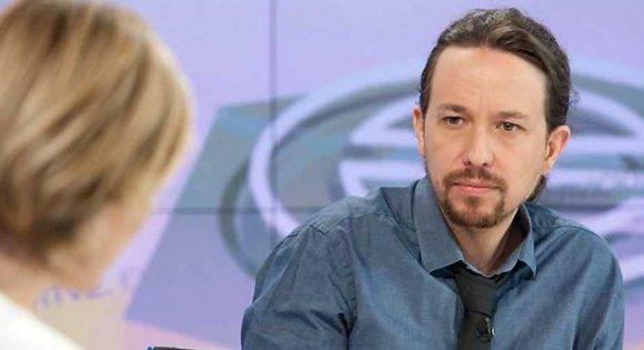 En una entrevista a la TV de su país, Pablo Iglesias, declaró que espera que su partido Unidos Podemos gobierne España en algún momento. Foto tomada de RTVE/ Archivo.