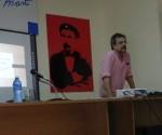 El Msc Pedro Emilio Moras provocó un intenso debate sobre cultura para el turismo. Foto: Susana Tesoro/Cubadebate.