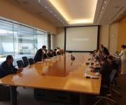 Primer Vicepresidente de #Cuba Miguel Díaz-Canel visita Centro Panasonic de Tokio. Foto: Cuenta en Twitter de Rogelio Sierra, Viceministro de Relaciones Exteriores.