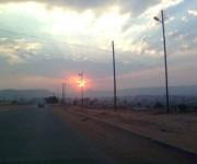 Puesta del sol en Lubango, Angola. Foto: Dra. Maria Antonieta / Cubadebate