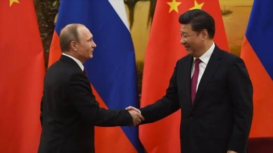 Putin y Xi Jinping en Beijing. Foto: HispanTV