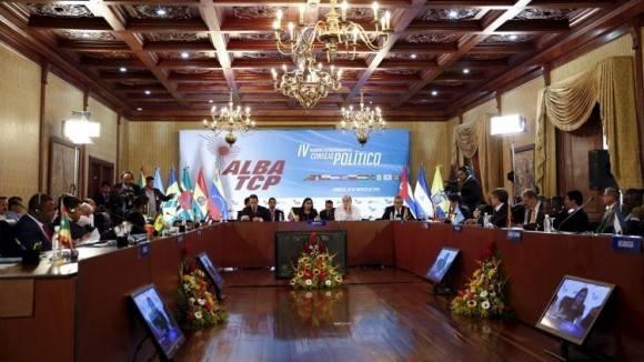 Reunión Política del ALBA