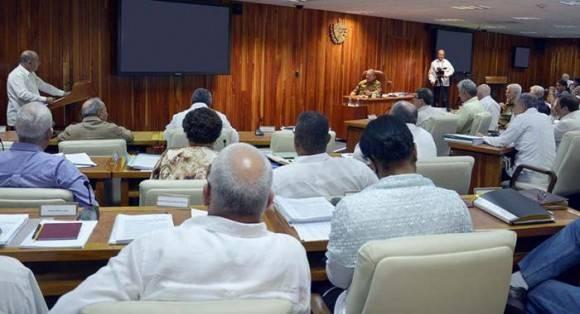 Reunión del Consejo de Ministros Junio de 2016. Foto: Estudio Revolución