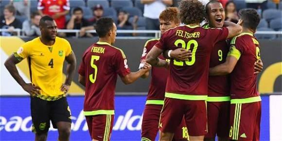 Venezuela gana a jamaica 1-0 Foto USA Today Sports