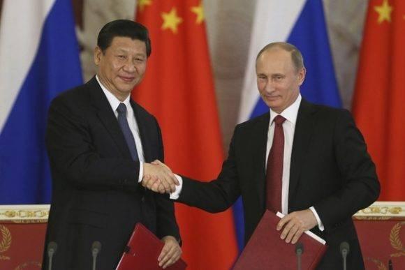 Xi Jinping y Vladimir Putin. Foto: EFE
