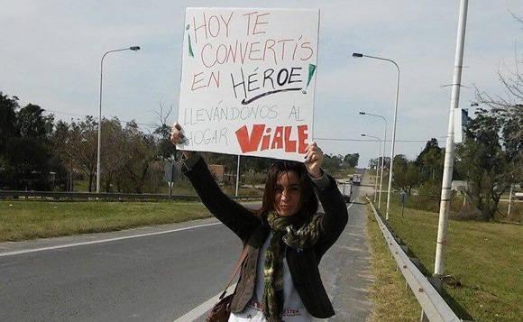Yohana Fucks vive en la provincia de Entre Ríos, donde es maestra y activista.