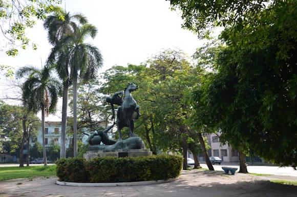 El legado de Anne Hyatt ha quedado inmortalizado en numerosos monumentos en distintos lugares del mundo, incluyendo el que se encuentra situado en la confluencia de las calles 20 de mayo y Ayestarán, muy cerca de la Plaza de la Revolución.