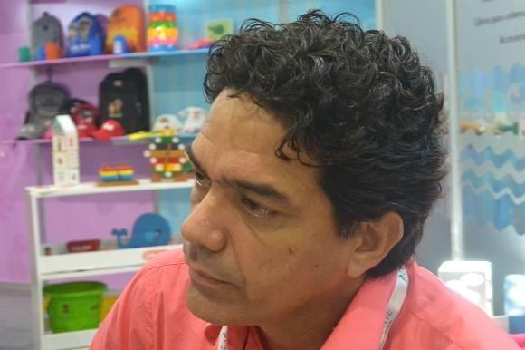 Ariel Balmaseda, presidente de Decorarte. Foto: Michel Contreras/Cubadebate.