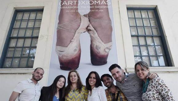 Primera exposición íntegra de artistas cubanos que residen en Cuba y acuden a Estados Unidos para presentar sus trabajos.