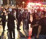 os personas dispararon a clientes de restaurantes de una zona concurrida de Tel Aviv. Foto: AFP.