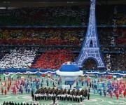 Inauguración de la Eurocopa 2016. Foto: Twitter.