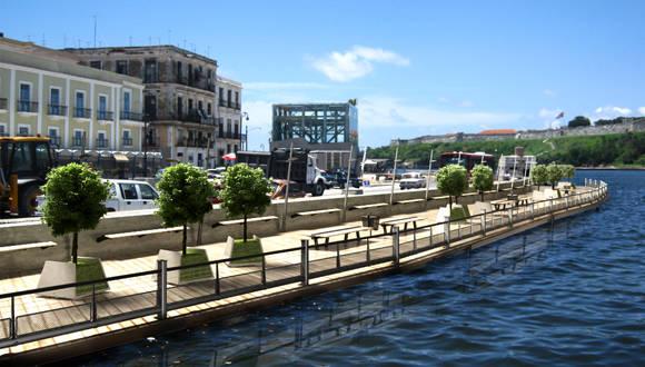 Proyecto de rehabilitación integral de la Avenida del Puerto.