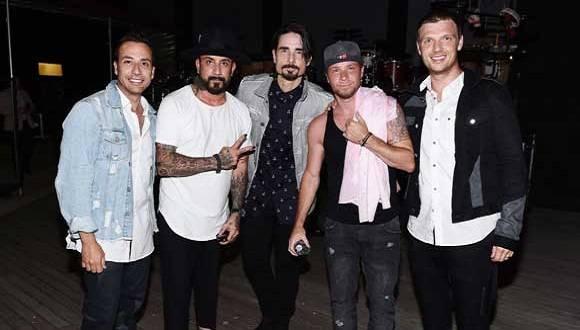 Integrantes de los Backstreet Boys preparan el décimo disco de su carrera musical. Foto: Cuenta en Twitter de la agrupación.
