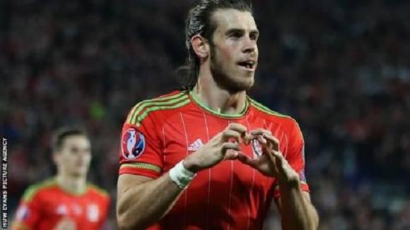 Gareth Bale, la estrella de Gales.