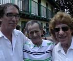 De izquierda a derecha Berazaín, Zumbado y Carlos Ruiz de la Tejera. Foto: Juventud Rebelde