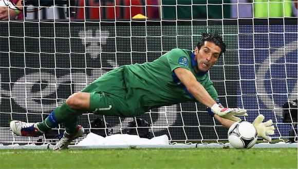 Gianluigi Buffon, la estrella de Italia.