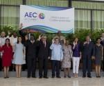 Recibimiento y foto oficial de la Reunión de Cancilleres, en la VII Cumbre de la Asociación de Estados del Caribe. Foto: Ismael Francisco/ Cubadebate