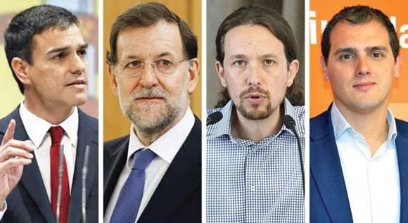Comienza nueva campaña electoral en España.