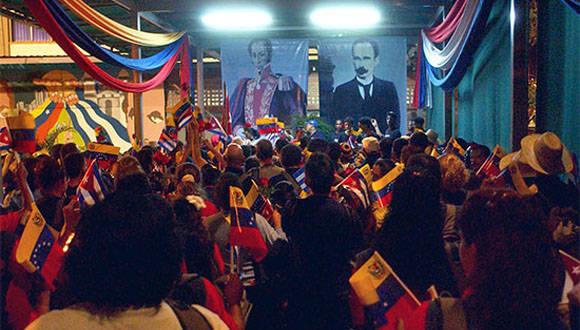 En Caracas tiene lugar la Primera Reunión Preparatoria del Festival Mundial de la Juventud y los Estudiantes. Foto: Juventud Rebelde.