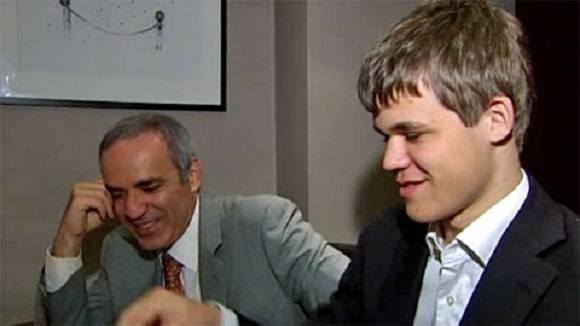 Kasparov posee la mejor frecuencia de triunfos en Supertorneos. El joven Carlsen, por ahora, se mantiene al acecho.