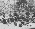 El Che y sus compañeros en Bolivia. Foto: Archivo.
