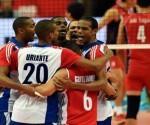 Equipo cubano de voleibol. Foto: Archivo.