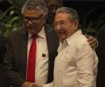 Raúl y Alfonso Múnera, Secretario General de la AEC. Segmento oficial de la VII Cumbre de la Asociación de Estados del Caribe. Foto: Ismael Francisco/ Cubadebate